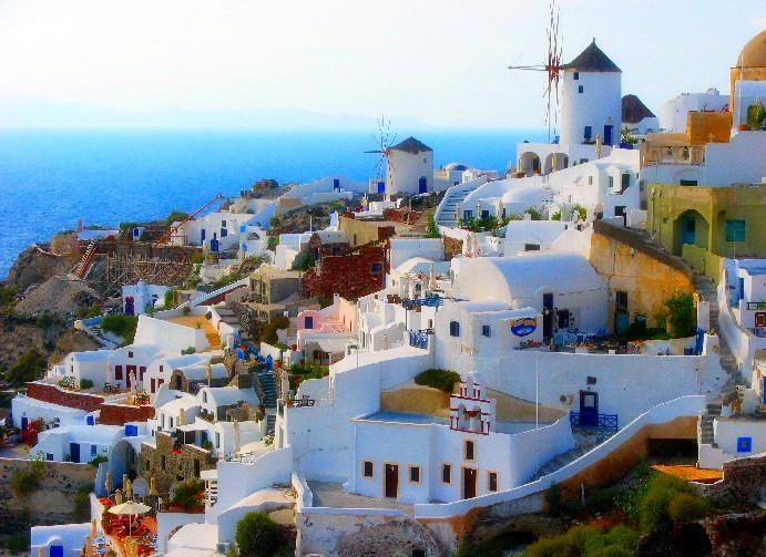 圣托里尼岛旅游景点_希腊圣托里尼岛